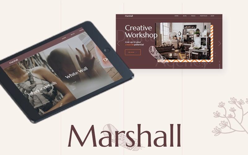 Marshall - Ein kreatives Mehrzweck-WordPress-Theme