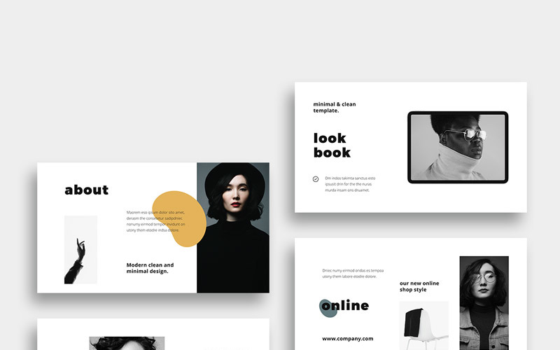 MOSY - Modern and Simple PowerPoint Template