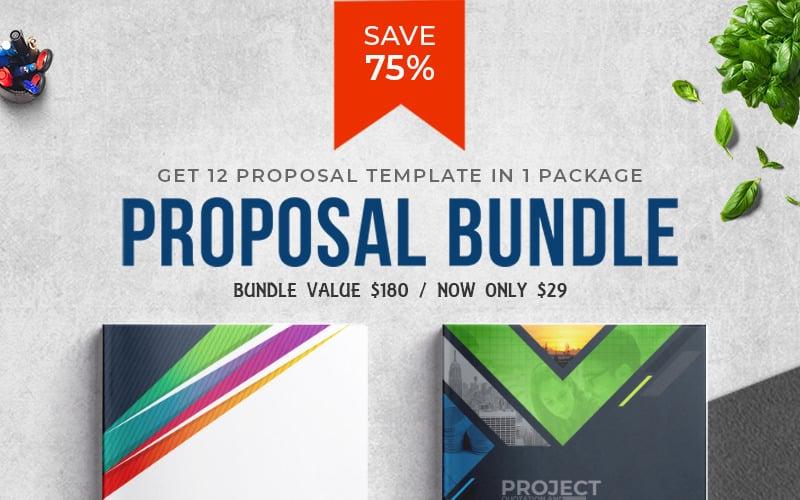 Proposal Template Big Bundle - Corporate Identity Template