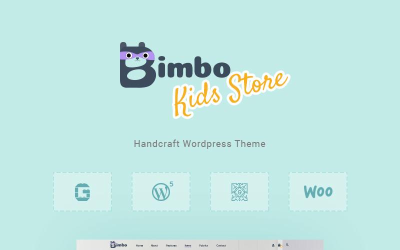Bimbo - тема WooCommerce для рукоделия