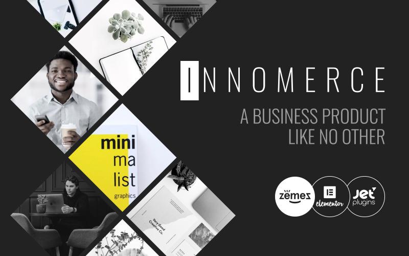 Innomerce - бизнес-многоцелевая минимальная тема WordPress Elementor