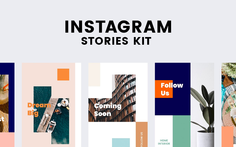 Instagram Stories Kit (Vol.20) Social Media Template