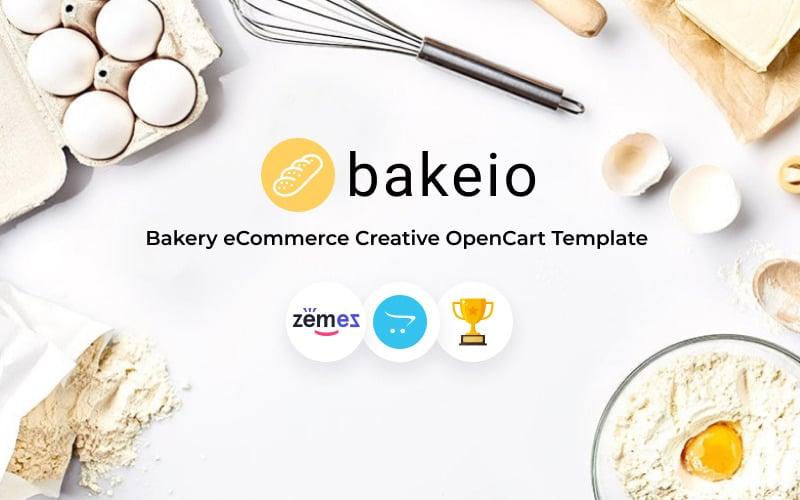 Bakeio - Bakkerij eCommerce Creatieve OpenCart-sjabloon