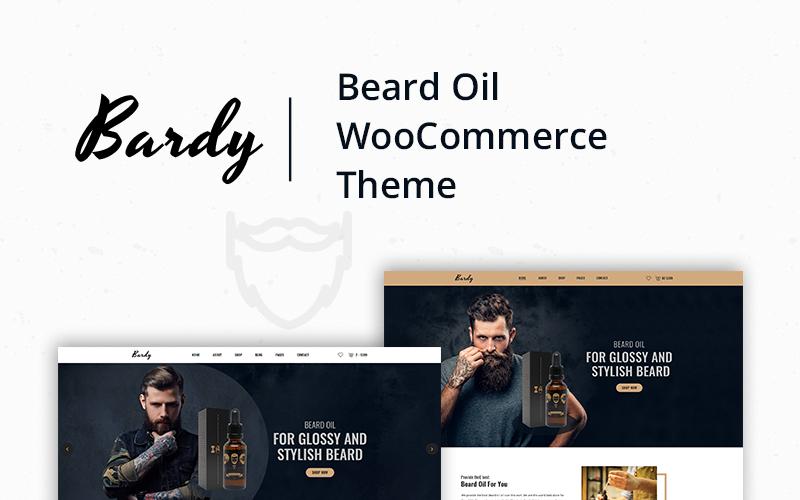 Bardy - Тема WooCommerce с маслом для бороды