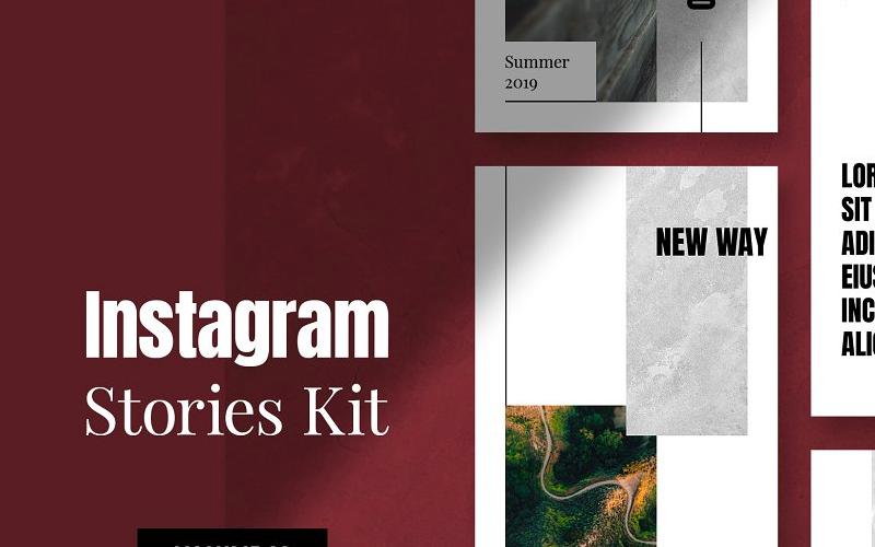 Instagram Stories Kit (Vol.22) Social Media Template