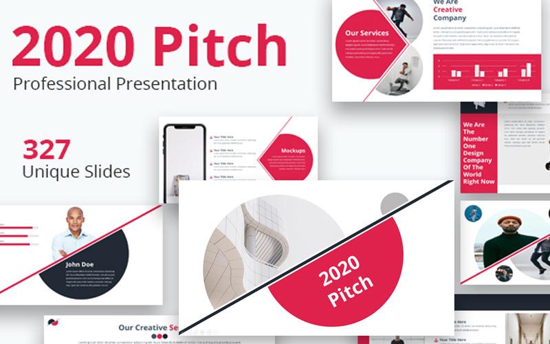 Prezentacje Google 2020 Pitch