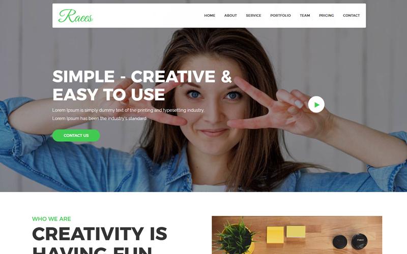Raees - Creative Agency Joomla Template