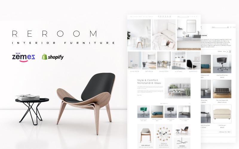 Rette - Furniture Multipage Minimalistic Shopify Theme
