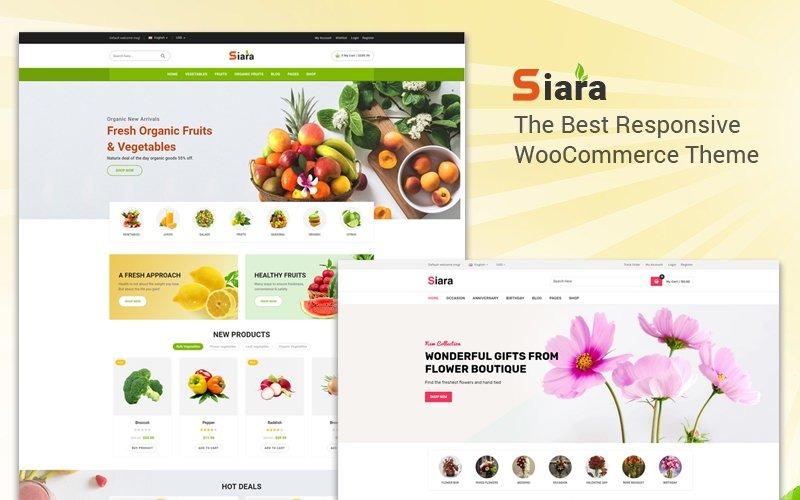 Siara WooCommerce Theme