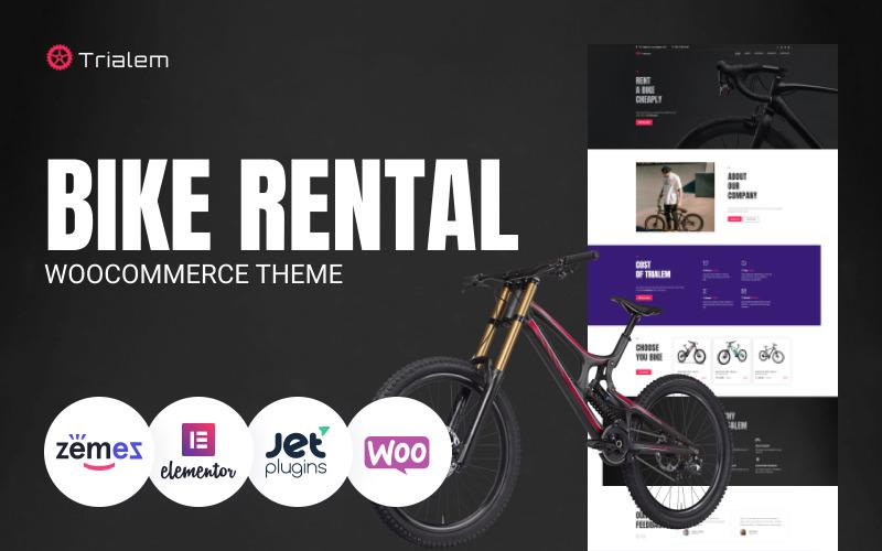 Trialem - Bike Rental Multipurpose Modern WordPress Elementor Theme