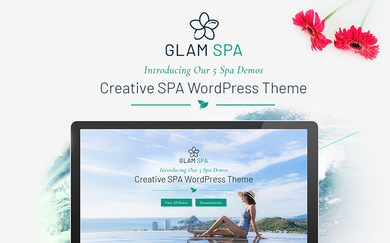 GlamSpa WordPress Theme
