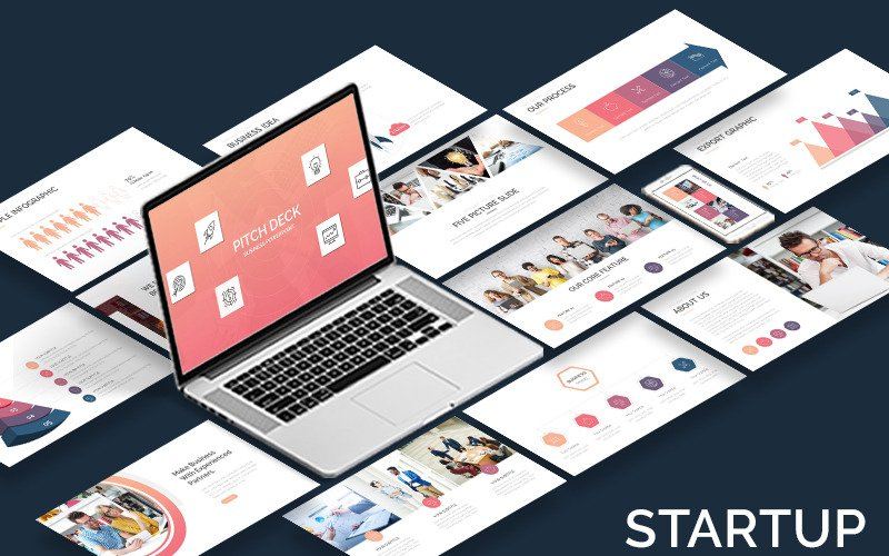 Pitch Deck - Business - Keynote template