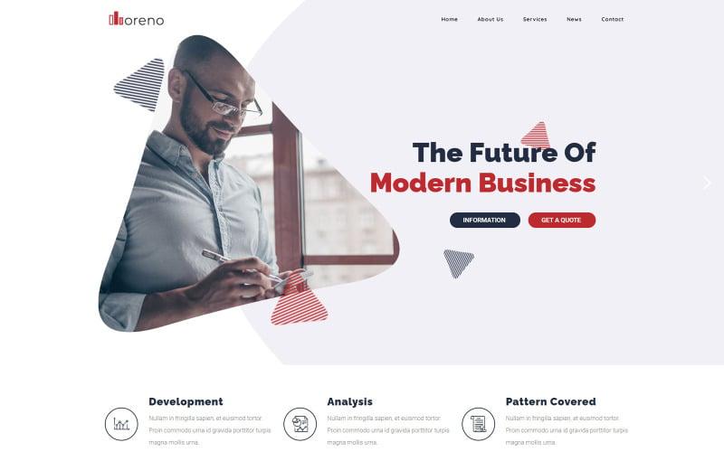 Moreno-现代商业WordPress主题