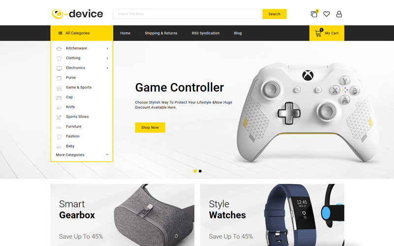 e-Device - Multipurpose BigCommerce Theme powered by Stencil