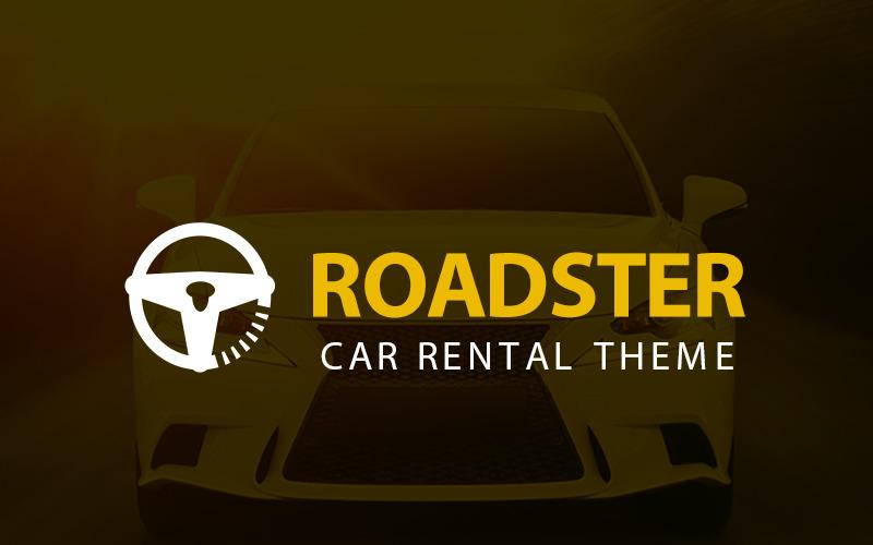 Roadster - тема прокату автомобілів WordPress