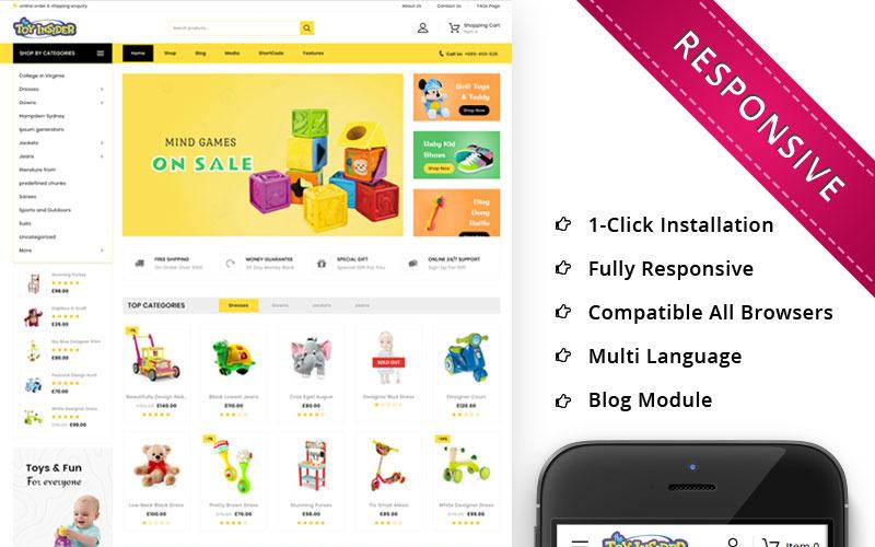 Toyinsider - motyw WooCommerce dla dzieci PlayStore