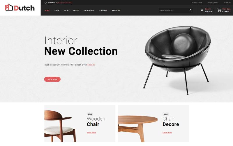 Dutch - Furniture WooCommerce Theme