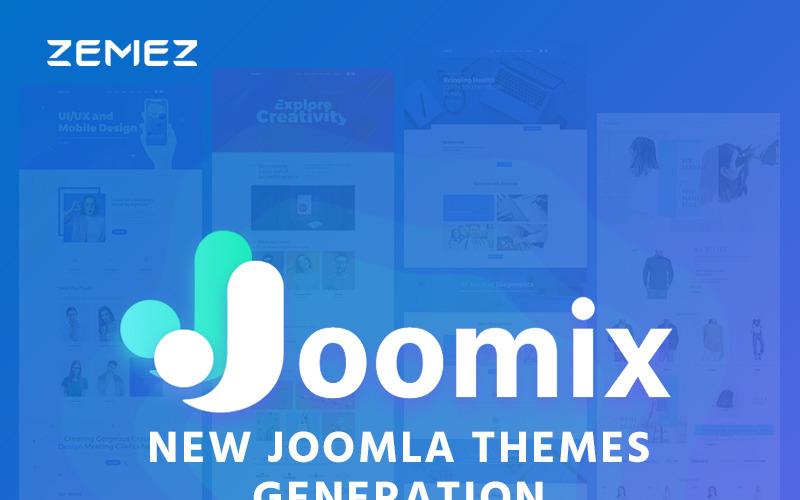 Joomix - Multipurpose Modern Joomla Template