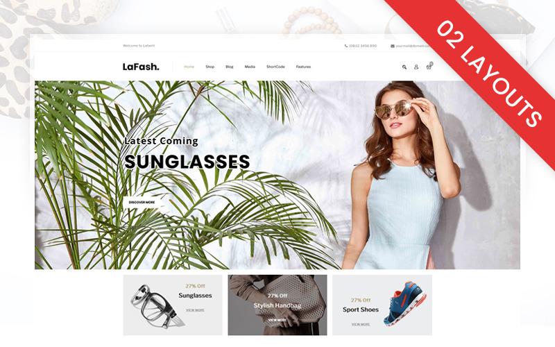 LaFash Víceúčelový obchod WooCommerce Theme