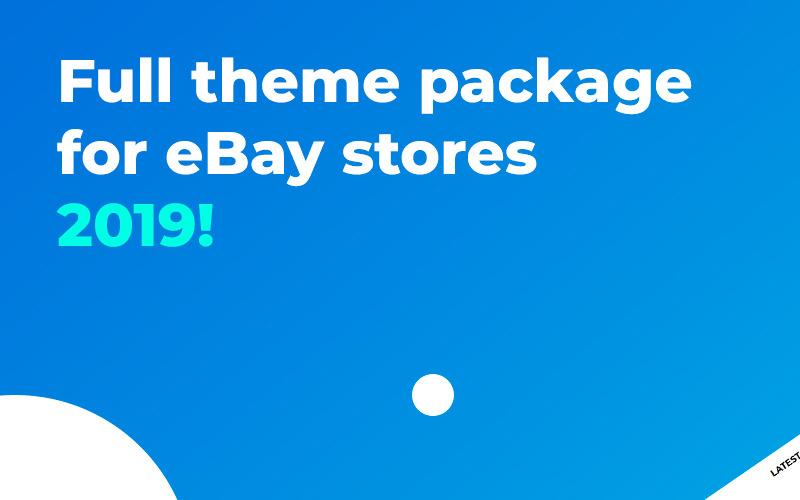 Plantilla EBay de MinimalShop v3