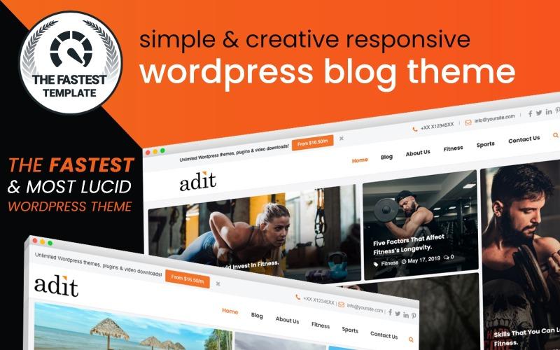 Stollen - Bloggen leicht gemacht WordPress Theme