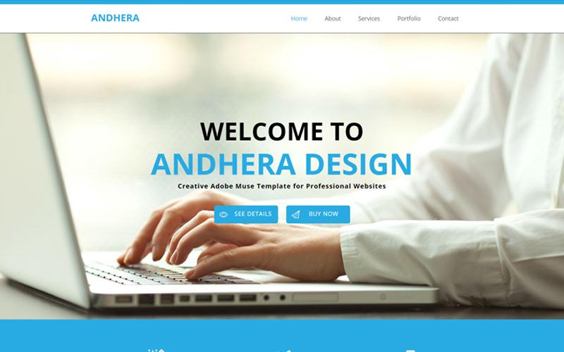 Andhera - Plantilla Muse multipropósito