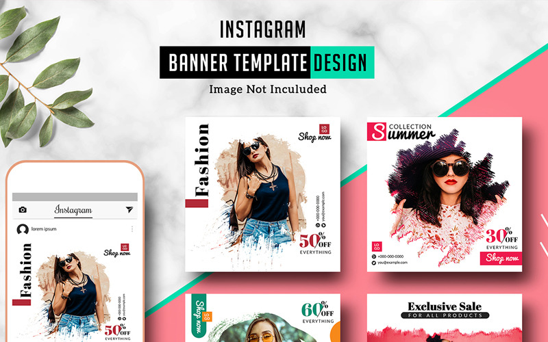 Sistec Instagram Banner Social Media Template