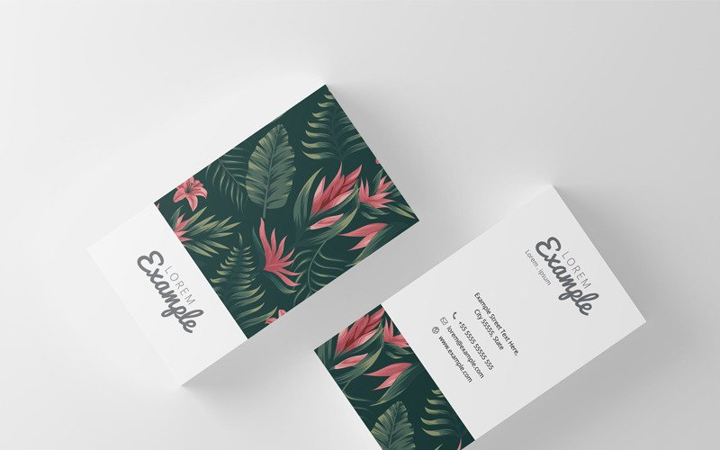 Natural Business Card - Corporate Identity Template