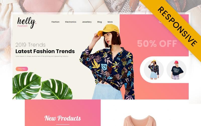 Helly Fashion Store PrestaShop Theme