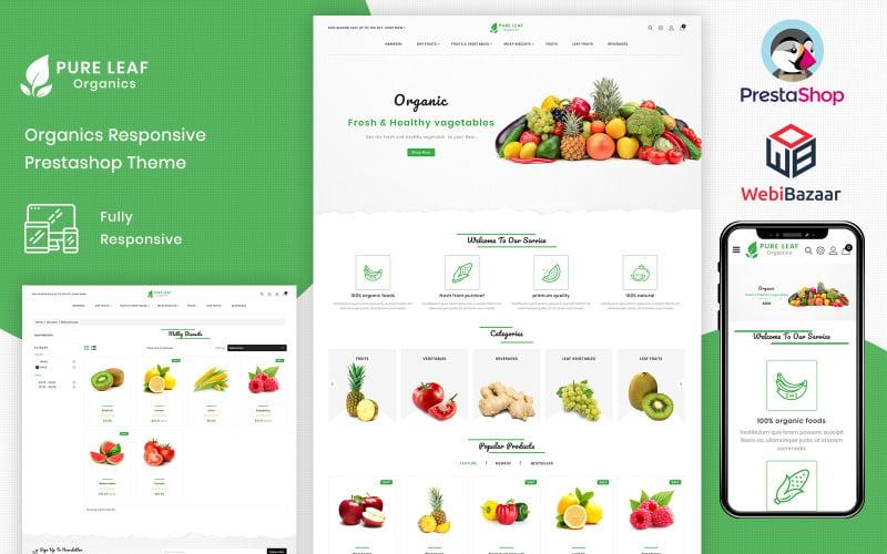 PureLeaf - Organic PrestaShop Theme