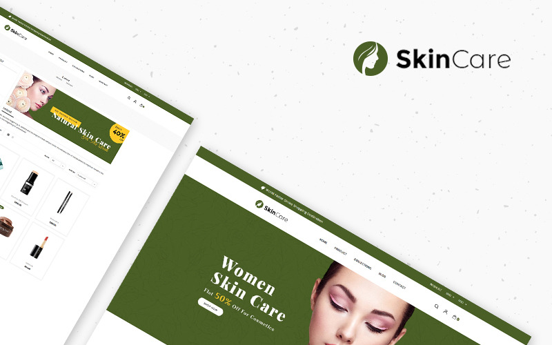 Hudvård - Kosmetikaffär Shopify-tema