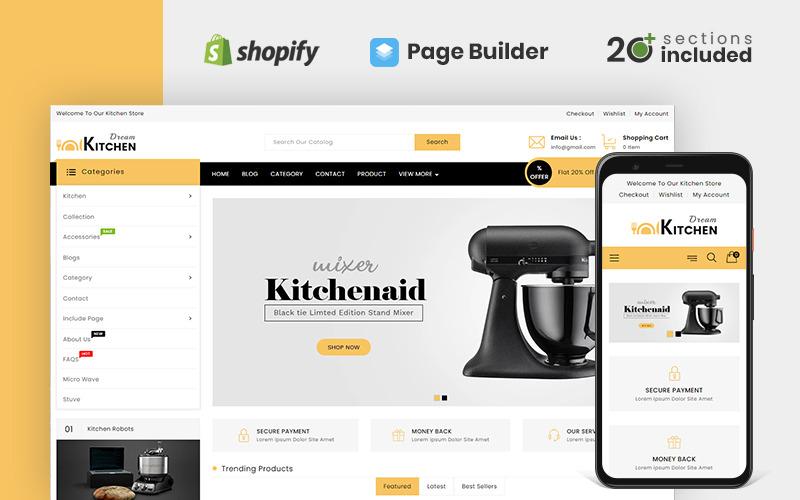 Dream Kitchen Store Shopify-Thema