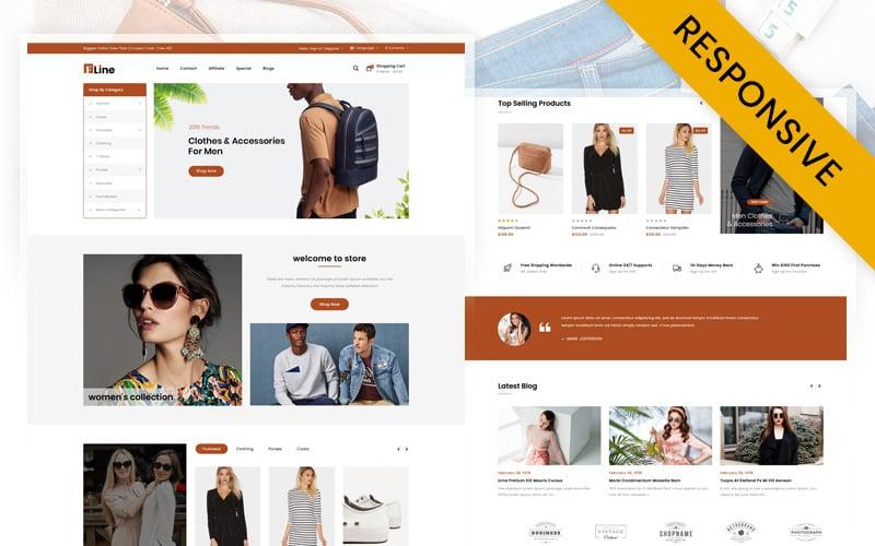 FLine - Fashion Store OpenCart Template