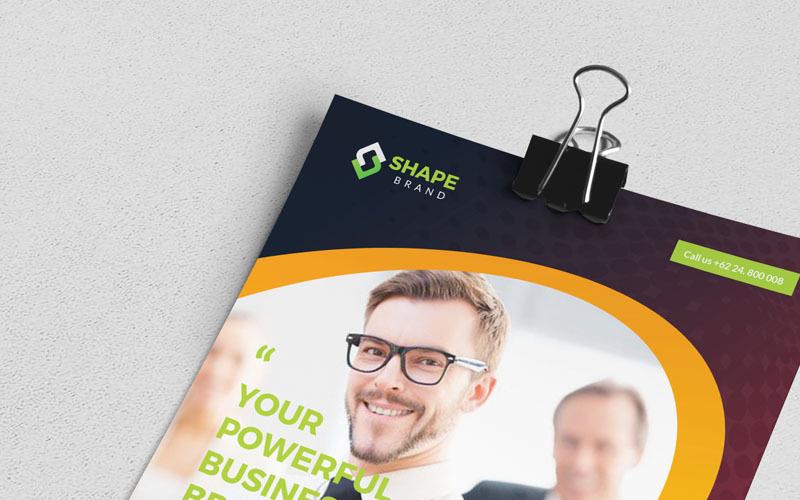 Sha - Flyer - Corporate Identity Template