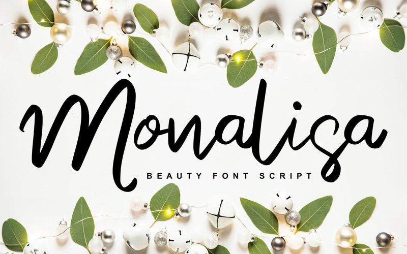 Monalisa   Beauty Script kézzel írt betűtípus