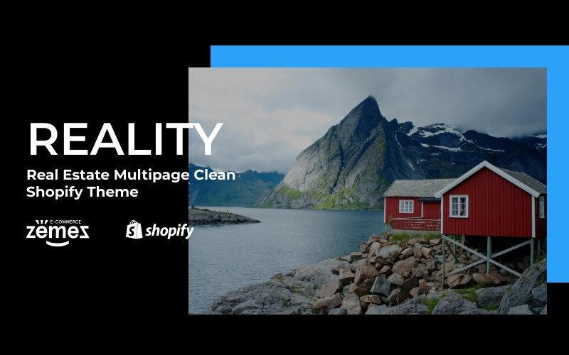 Reality - Real Estate Multipage Clean Shopify Theme