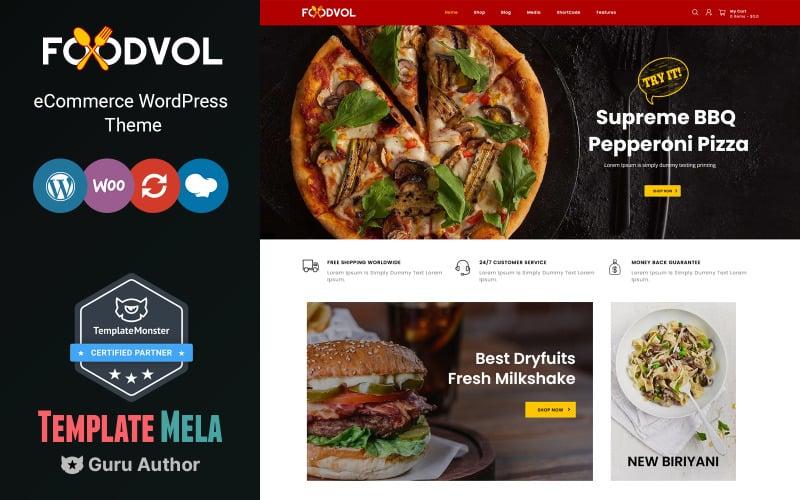 Foodvol - Restaurants WooCommerce Theme