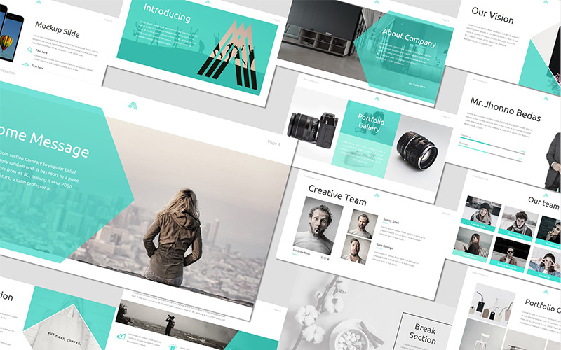 Amous - - Keynote template