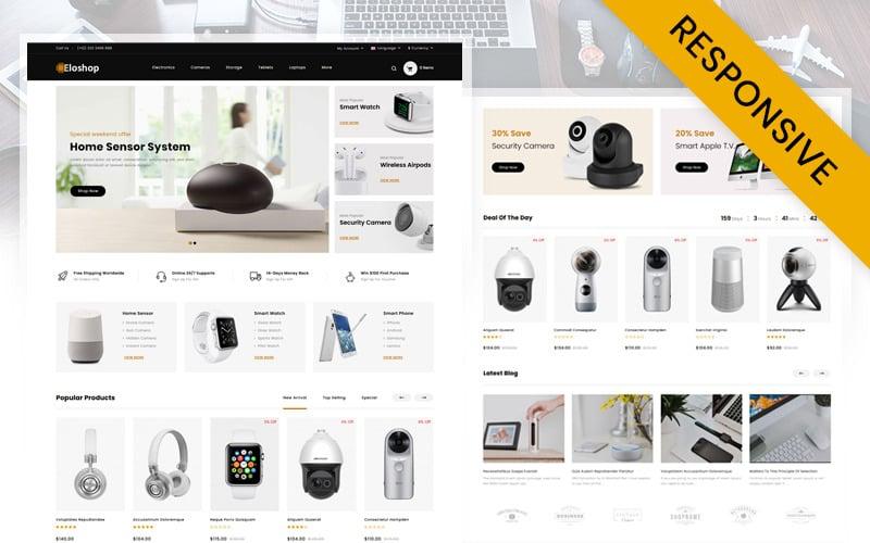 Eloshop - Electronics Shop OpenCart Template