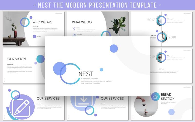 NEST PowerPoint Şablonu