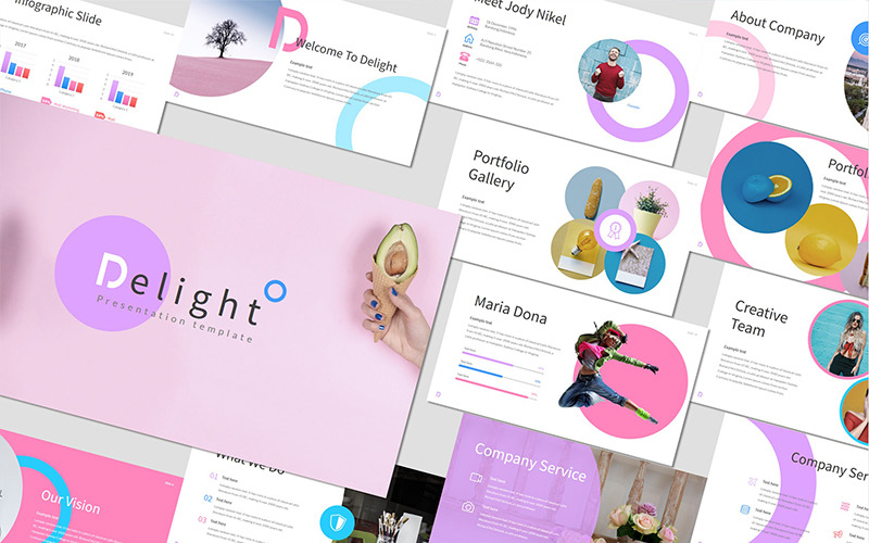 Delight - PowerPoint Template