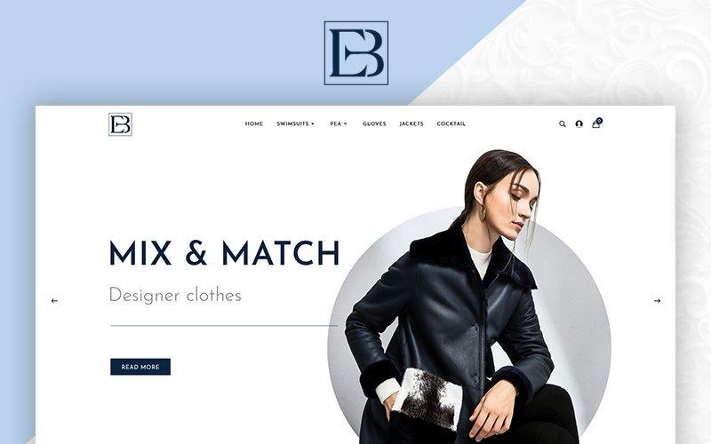 Eb Fashion Multistore OpenCart Template