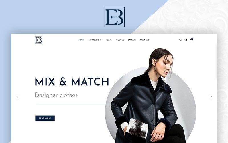 Eb Fashion Multistore OpenCart Vorlage