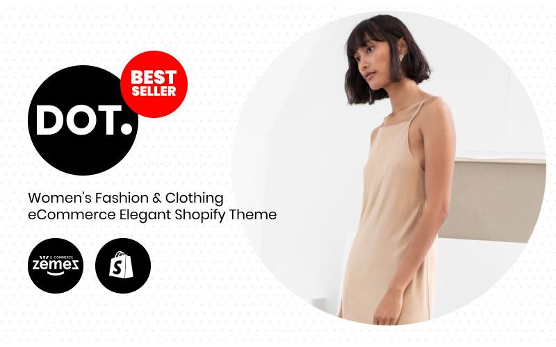 PUNKT. - Damenmode & Bekleidung eCommerce Elegant Shopify Theme
