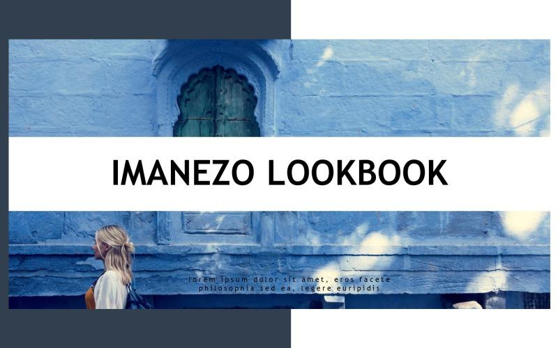 Imanezo - Lookbook Presentation PowerPoint Template