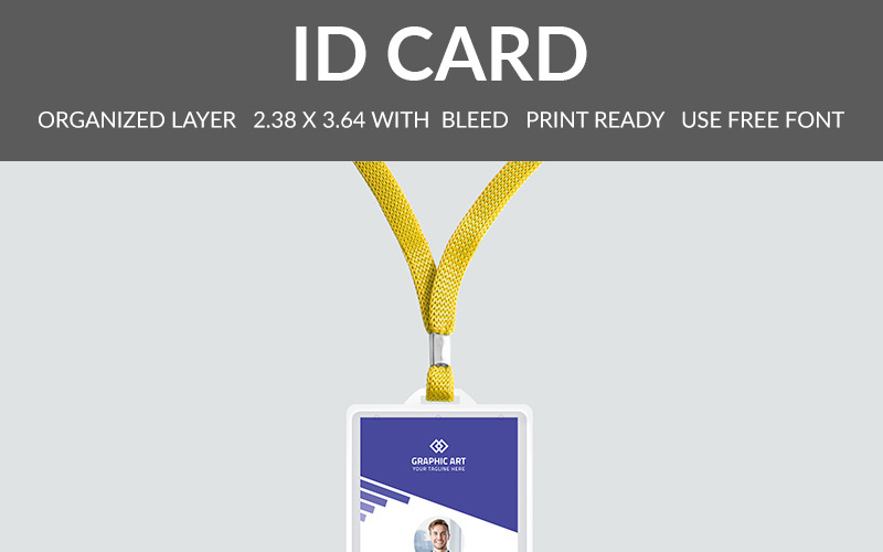 Office Id Card - Corporate Identity Template