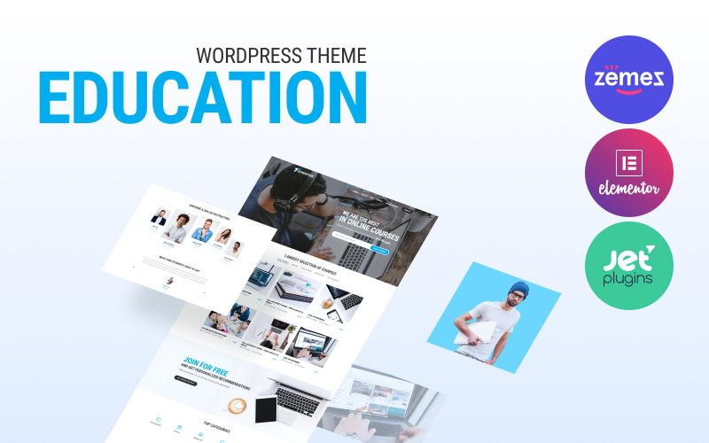 Technotour - Education Courses Minimal WordPress Elementor Theme