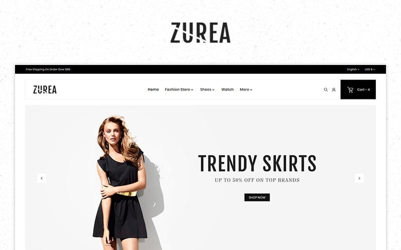 Tema PrestaShop Premium de Zurea Fashion Store