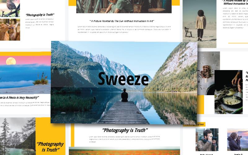 Sweeze - - Keynote template
