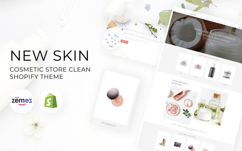 Nuova skin - Tema di eCommerce pulito di Shopify per negozi di cosmetici